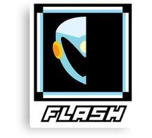 Robot Master - Flash Canvas Print
