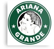 Ariana Grande - Starbucks Metal Print