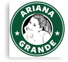 Ariana Grande - Starbucks Canvas Print