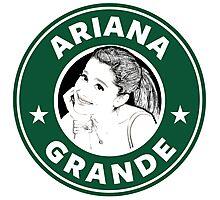 Ariana Grande - Starbucks Photographic Print