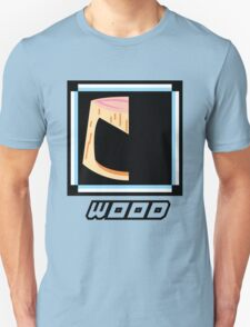 Robot Master - Wood Unisex T-Shirt