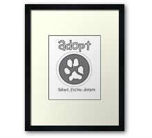Adopt Framed Print