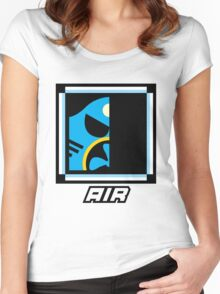 Robot Master - Air Women's Fitted Scoop T-Shirt
