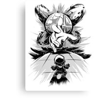 Master Hand - Smash Bros Canvas Print