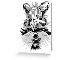Master Hand - Smash Bros Greeting Card