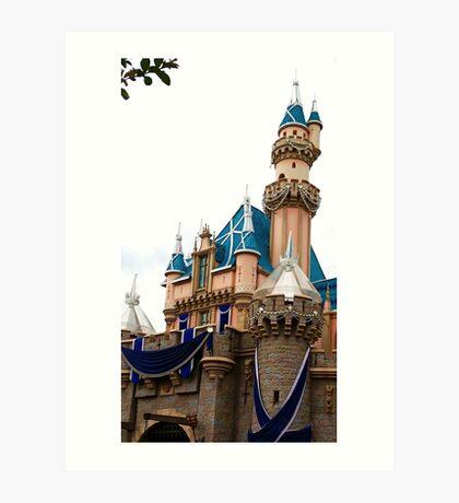 Castle Contrast Art Print