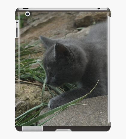 Stalking the Grass iPad Case/Skin