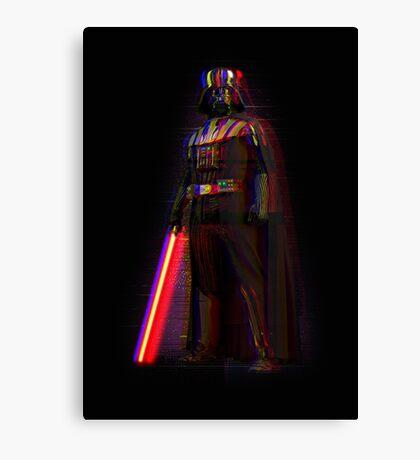 Glitch Vader Canvas Print