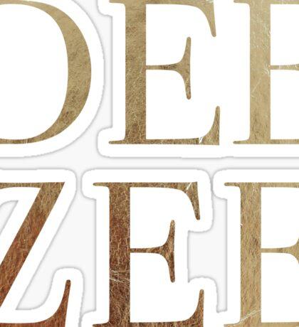 Dee Zee Sticker