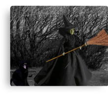 WITCHY WOMAN  PICTURE  Canvas Print