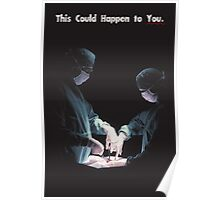 IT COULD HAPPEN TO YOU: Operation Poster