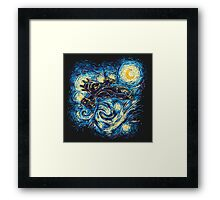 Starry Flight Framed Print