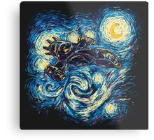 Starry Flight Metal Print
