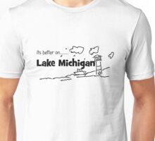 Lake Michigan Lighthouse Unisex T-Shirt