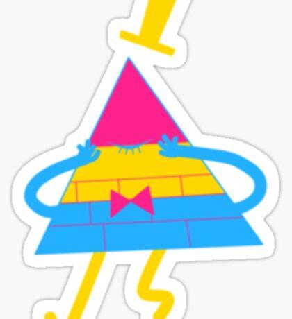 Pansexual Bill Sticker