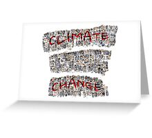 Climate Change Greeting Card