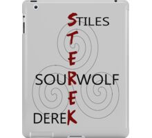 Sterek-White iPad Case/Skin
