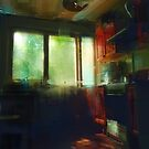 late afternoon kitchen by Nikolay Semyonov
