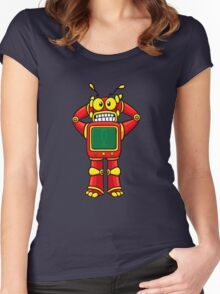 DON'T PANIC!!!! Women's Fitted Scoop T-Shirt