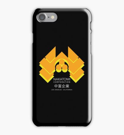 Nakatomi Plaza - Japanese Expand Reverse Variant iPhone Case/Skin
