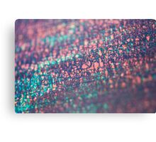layers of color - seven Canvas Print