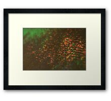 layers of color - three Framed Print