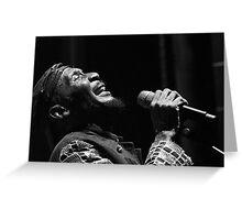 The wonderful Jimmy Cliff 4 (n&b)(t) by expressive photos ! Olao-Olavia by Okaio Créations  Greeting Card