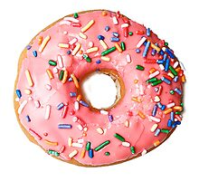 a real donut Photographic Print