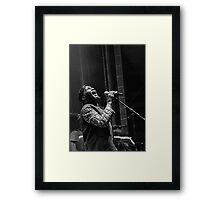 The wonderful Jimmy Cliff 5 (n&b)(h) by expressive photos ! Olao-Olavia by Okaio Créations  Framed Print