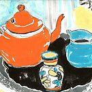 studio tea 2 by HelenAmyes