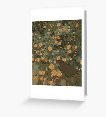 Graphic F1 Greeting Card