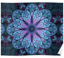 Fractal Mandala Poster