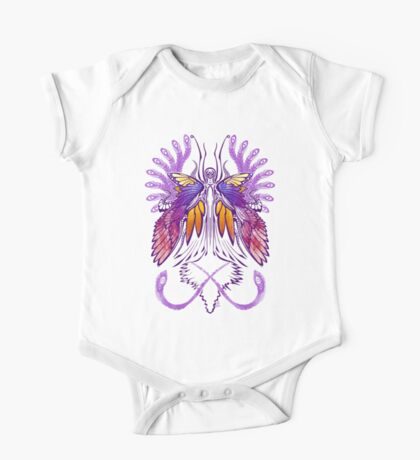 Mab the Queen of Fey (purple) One Piece - Short Sleeve