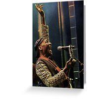 The wonderful Jimmy Cliff 8 (c)(h) by expressive photos ! Olao-Olavia by Okaio Créations  Greeting Card