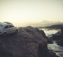 FIAT all over Town : Beach Sunset by inLitestudio