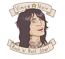 Vince Noir Rock 'n' Roll Star Photographic Print