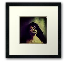 Face #1938 Framed Print