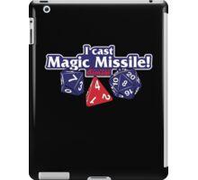 I Cast Magic Missile II iPad Case/Skin