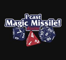 I Cast Magic Missile II One Piece - Long Sleeve