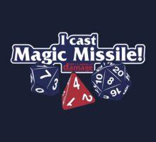 I Cast Magic Missile II One Piece - Long Sleeve