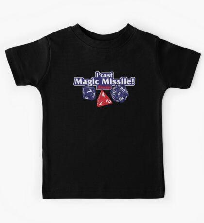 I Cast Magic Missile II Kids Tee