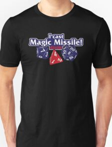I Cast Magic Missile II Unisex T-Shirt