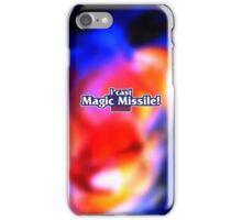 I Cast Magic Missile! iPhone Case/Skin