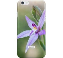 Fairy orchid iPhone Case/Skin