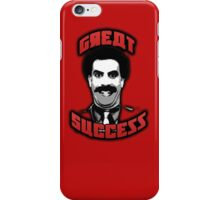 Borat - Great Success iPhone Case/Skin