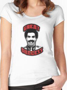 Borat - Great Success Women's Fitted Scoop T-Shirt