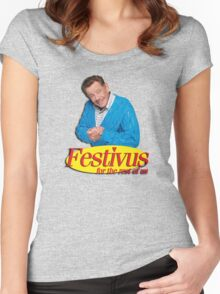 Frank Costanza - Festivus for the rest of us Women's Fitted Scoop T-Shirt