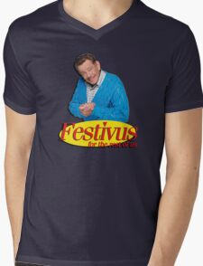 Frank Costanza - Festivus for the rest of us Mens V-Neck T-Shirt