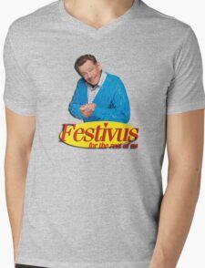 Frank Costanza - Festivus for the rest of us Mens V-Neck T-Shirt