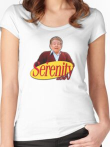 Serenity Now - Frank Costanza Women's Fitted Scoop T-Shirt